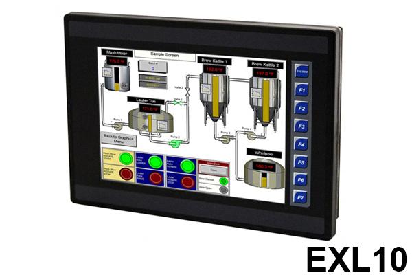 Controlador EXL10, Serie XL, Controlador todo en uno / Controller EXL10, XL Series, All-in-One Controllers / Horner Automation Group / Horner APG