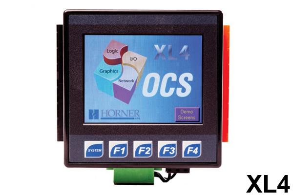 Controlador XL4, Serie XL, Controlador todo en uno / Controller XL4, XL Series, All-in-One Controllers / Horner Automation Group / Horner APG