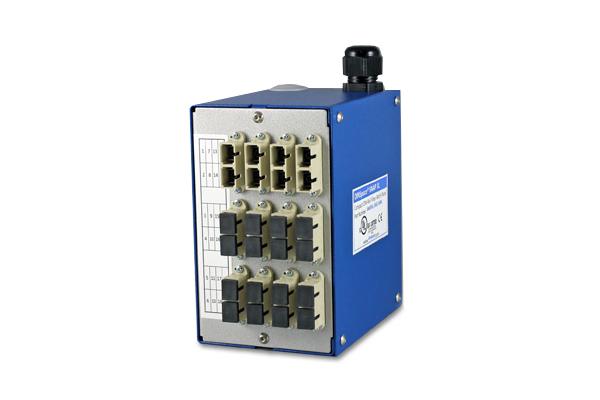 CTQ, DINSpace México, Panel de conexiones de fibra óptica compacta / Networking, Compact Fiber Optic Patch Panel, 24 SC